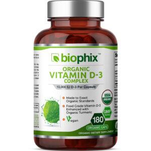 Biophix-Render-OrganicVitaminD3-10000IU-180VCaps-Front